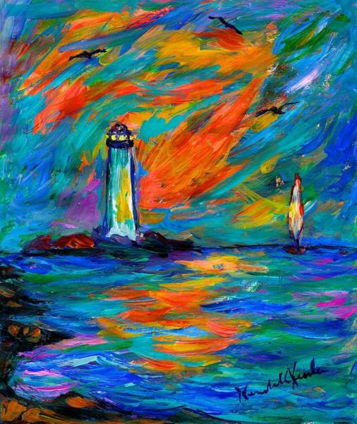 Painting - Lighting The Way by Kendall Kessler
