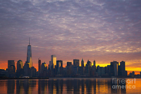 Nine Eleven Photograph - Lighting Up The City  by Michael Ver Sprill