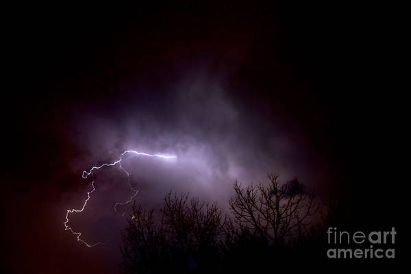 Photograph - Lightning 2 by Jacqueline Athmann