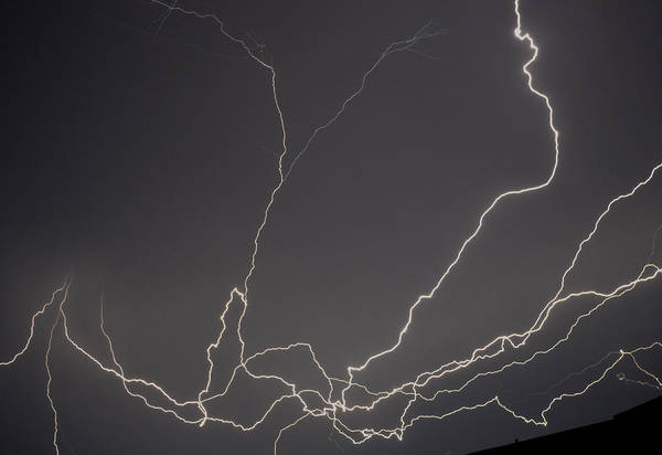 Photograph - Lightning 6a by Maggy Marsh