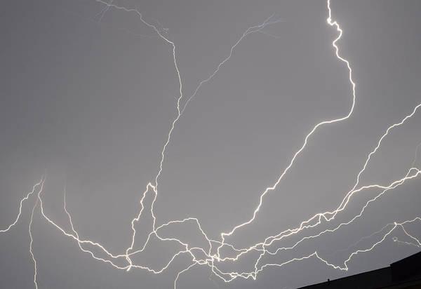 Photograph - Lightning 6b by Maggy Marsh