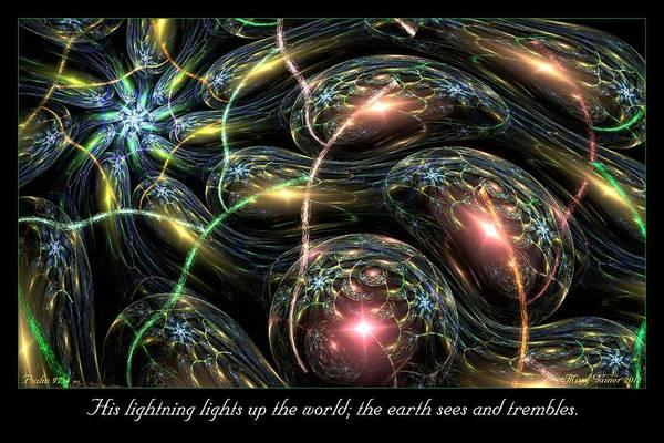 Digital Art - Lightning by Missy Gainer