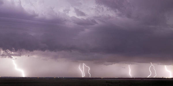 Photograph - Lightning Storm by Rob Graham