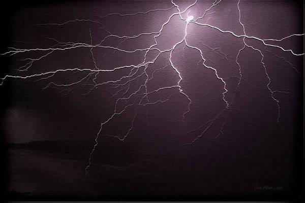 Photograph - Lightning Striking Again by Ericamaxine Price