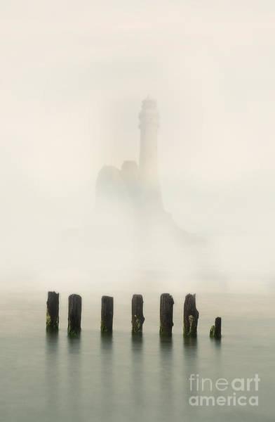 Outdoor Wall Art - Photograph - Lightouse In The Early Fog by Jaroslaw Blaminsky