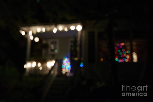 Photograph - Lights A Blur by Dale Powell