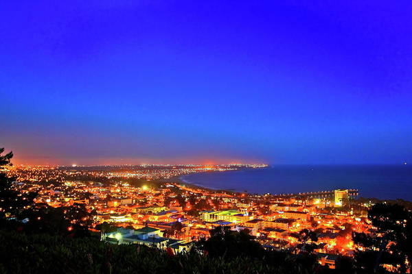 Ventura Photograph - Lights Alone Coast by Albert Valles
