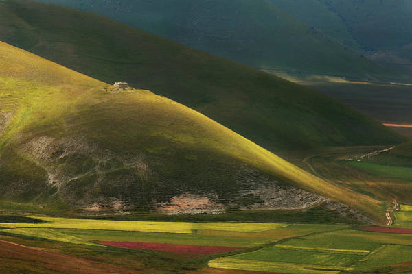 Farm Landscape Photograph - Lights And Shadows by Edoardo Gobattoni