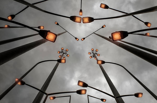 Wall Art - Photograph - Lights by Jure Kravanja