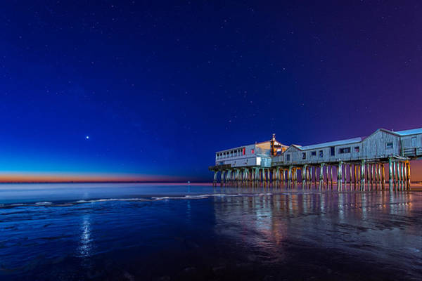 Orchard Beach Photograph - Lights Of Dawn by Michael Blanchette