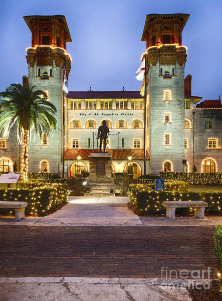 Wall Art - Photograph - Lights Of St Augustine by George Oze
