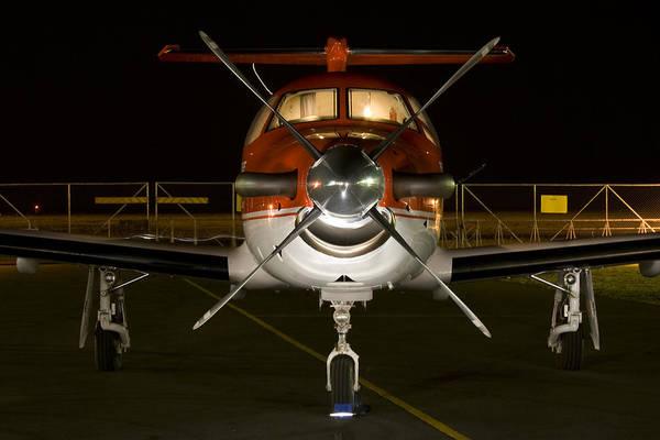 Kimberley Airport Photograph - Lights On by Paul Job