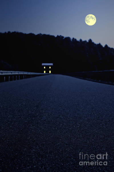 Photograph - Lights On Up Ahead by Edward Fielding