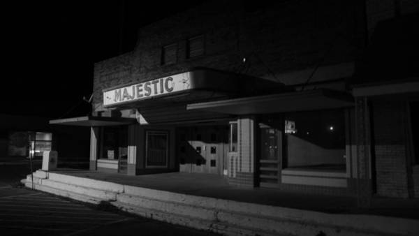 Photograph - Lights Out On The Majestic by Jeff Mize
