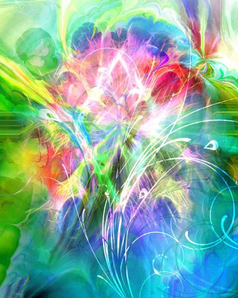 Digital Art - Lightsinfonia by Lutz Baar