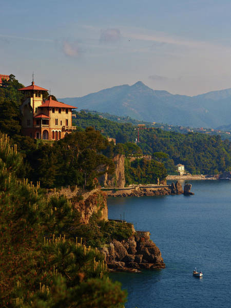 Portofino Photograph - Ligurian Coast by Roman Makhmutov