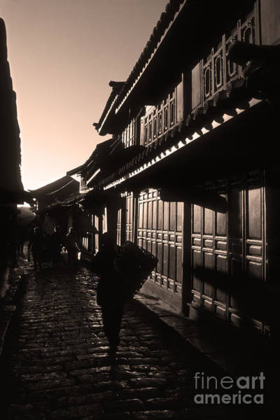 Photograph - Lijiang Old Town Yunnan China by James Brunker