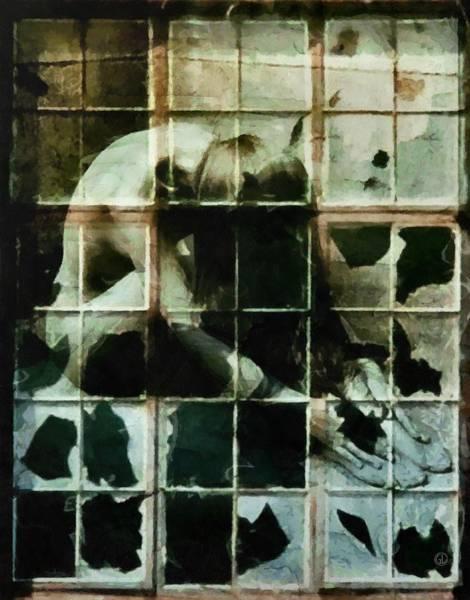 Broken Glass Digital Art - Like A Broken Window by Gun Legler