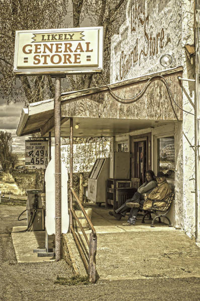 Photograph - Likely General Store by Sherri Meyer