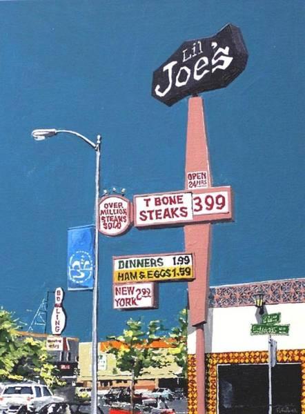 Li'l Joe's Art Print by Paul Guyer