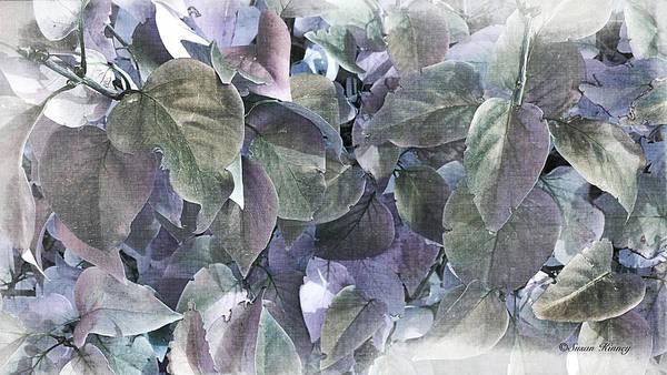 Digital Art - Lilac Leafs by Susan Kinney