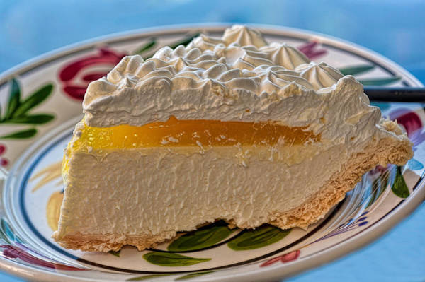 Photograph - Lilikoi Cheese Pie by Dan McManus