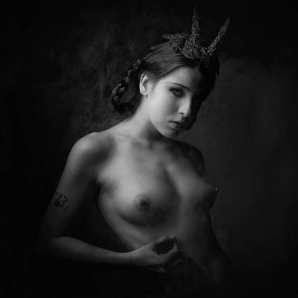 Mythology Wall Art - Photograph - Lilith by Jacek Poprawski