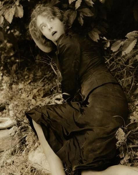Celebrities Photograph - Lillian Gish As The Harlot In Within The Gates by Edward Steichen