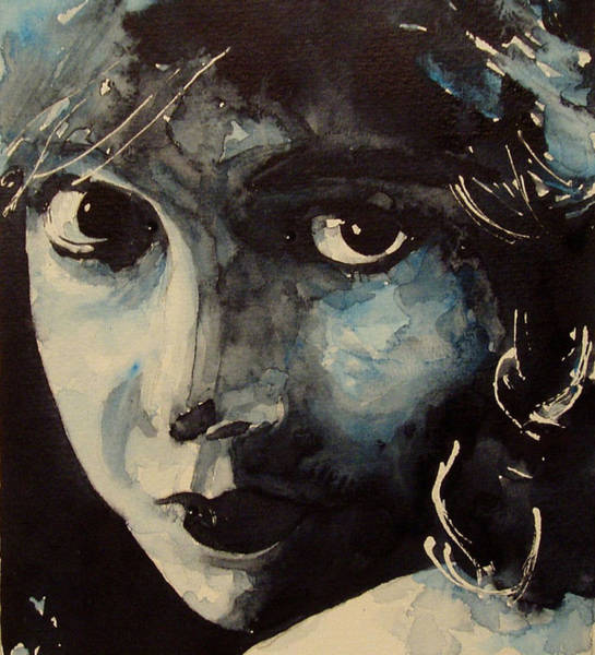 Film Painting - Lillian Gish  by Paul Lovering