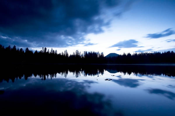 Photograph - Lilly Lake by Darryl Wilkinson