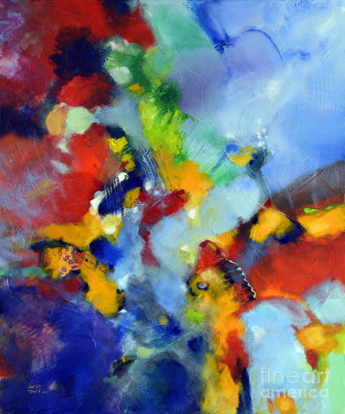 Painting - Lilt by Sally Trace