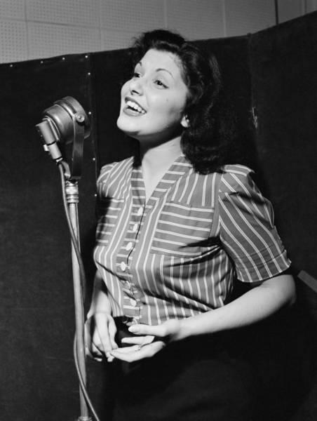 Carol Singing Photograph - Lily Ann Carol by Granger