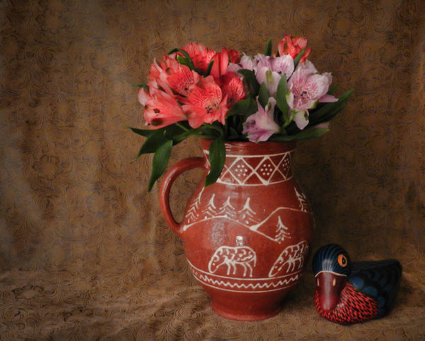 Photograph - Lily Of The Incas Bouquet by Grace Dillon