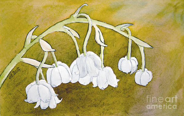 Painting - Lily Of The Valley by Laurel Best