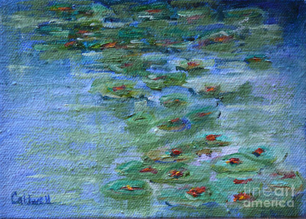 Wall Art - Painting - Lily Pad by Patricia Caldwell