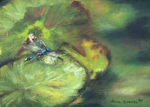 Painting - Lily Pads by Lori Brackett