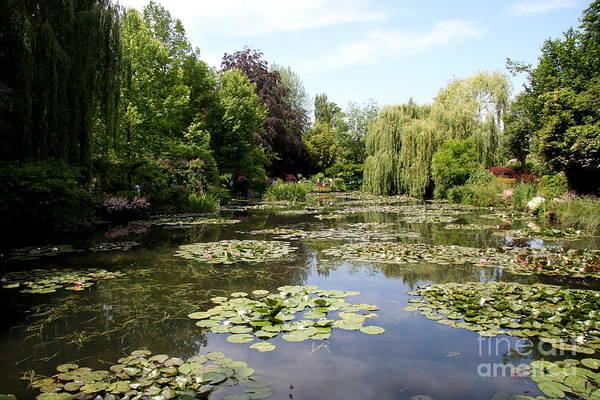 Claude Monet Photograph - Lilypond Monets Garden by Christiane Schulze Art And Photography