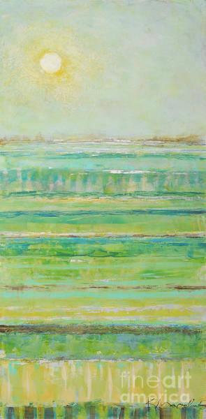 Painting - Lime Bamboo Set by Kaata    Mrachek