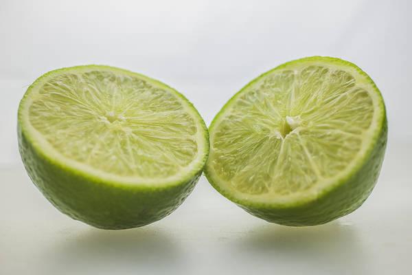 Photograph - Lime Food Macro 2 by David Haskett II