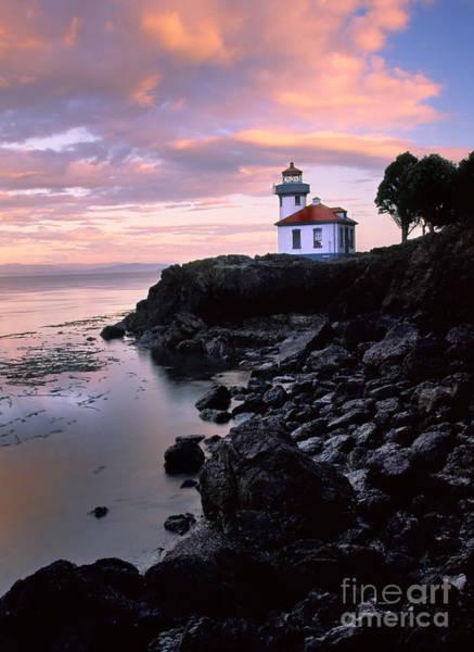 North Coast Harbor Photograph - Lime Kiln Dawn by Inge Johnsson