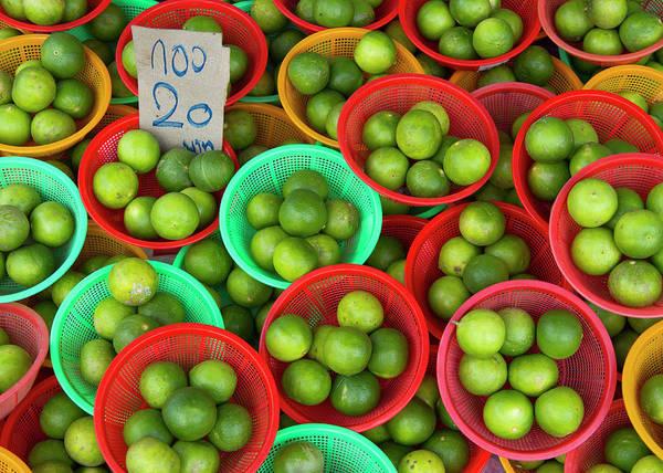 Retail Photograph - Limes by Richard Friend