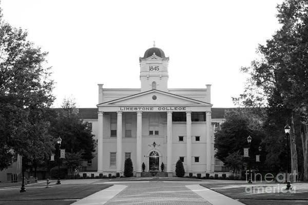 Photograph - Limestone College Curtis Cooper Administration Building by University Icons