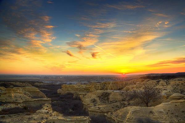 Wall Art - Photograph - Limestone Sunrise by Thomas Zimmerman