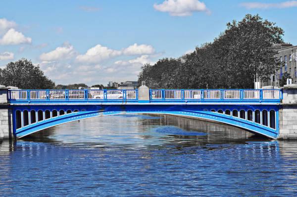 Photograph - Limited Edition Dublin Bridge by Sharon Popek