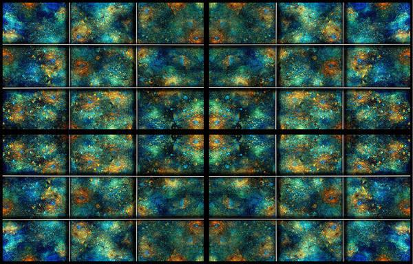 Nebula Digital Art - Limitless Night Sky by Betsy Knapp