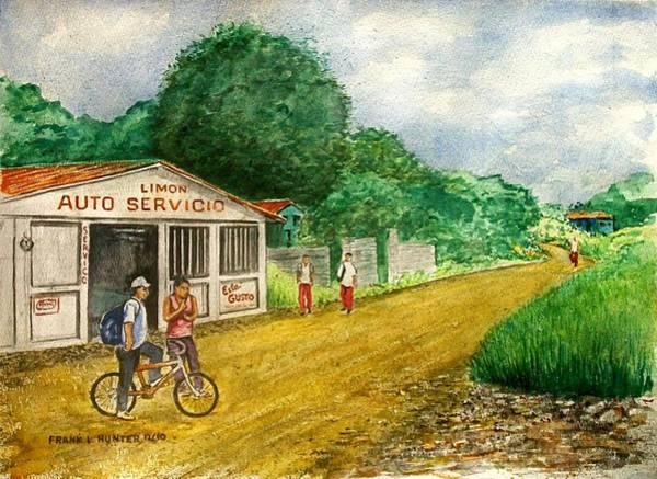 Limon Costa Rica Art Print