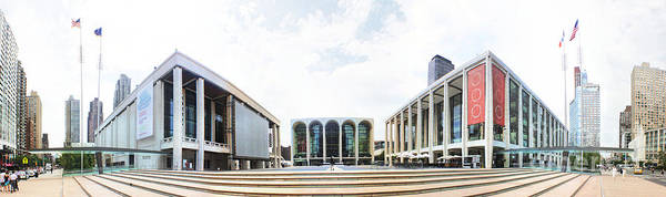 Fisher Center Photograph - Lincoln Center Nyc by Nishanth Gopinathan