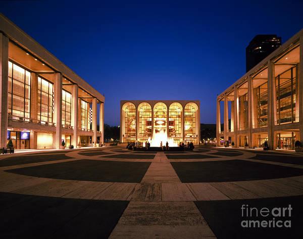 Fisher Center Photograph - Lincoln Center by Rafael Macia