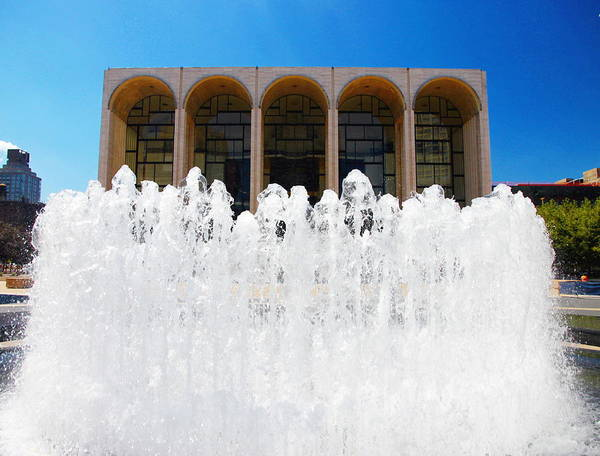 Fisher Center Photograph - Lincoln Centre by Valentino Visentini