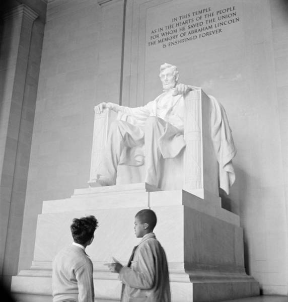 Wall Art - Photograph - Lincoln Memorial, 1942 by Granger